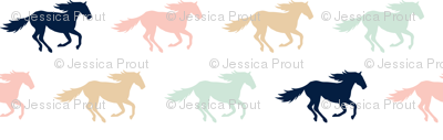 multi wild horses  || the briar woods collection