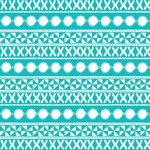 Masi Stripes Turquoise
