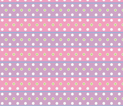 Ribbon so girly fabric by floramoon on Spoonflower - custom fabric