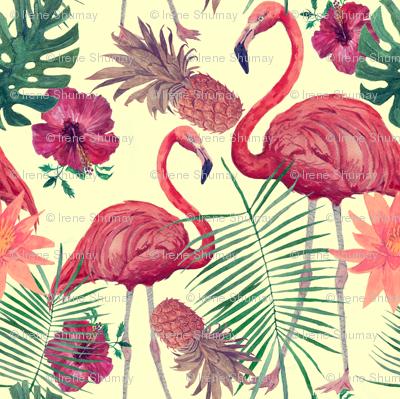 Flamingo_pattern_watecolor_preview