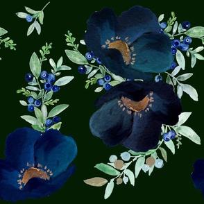 Blueberry Fields - Green