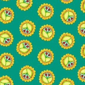 Cherry_Medallions_Teal