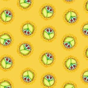 Cherry_Medallions_Yellow