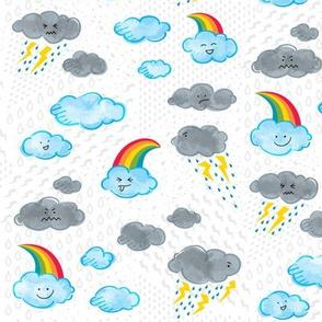 Crazy Weather Pattern   Rainbows & Lightning