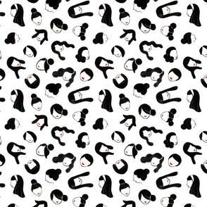 Hair 'do - medium
