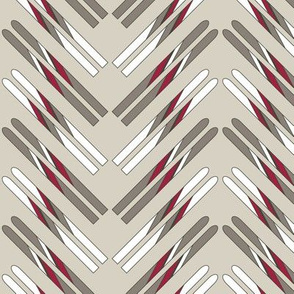Ski Chevrons (Woodland)