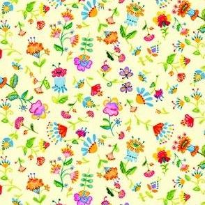 Small Flowers Cream