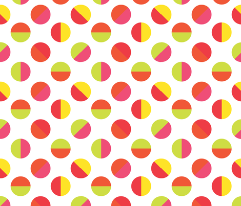 Color Block spot diagonal_early_autumn fabric by colour_angel_by_kv on Spoonflower - custom fabric
