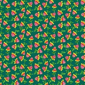Tiny_Sunflowers_Green