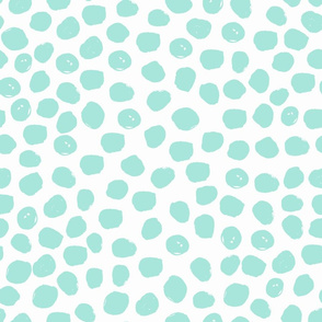 dots painted dot aqua mint girls nursery baby girl nursery