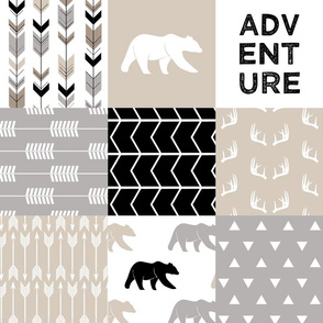 adventure woodland wholecloth  || the classic woodland collection