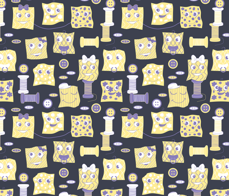 Swatch Babies fabric by julia_diane on Spoonflower - custom fabric