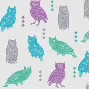 owltastic in grey