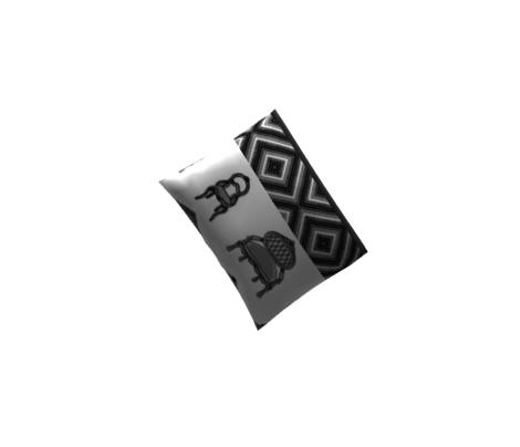 Antique Furniture 2 pc (grey)