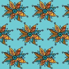 Southwest poinsettia  brown