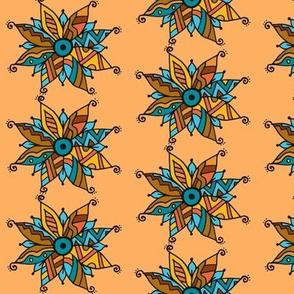 Southwest poinsettia  orange