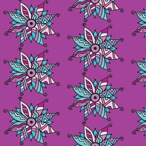 Southwest poinsettia  purple