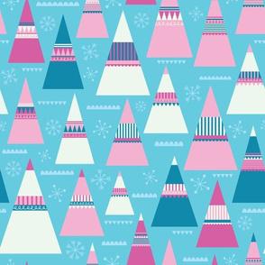 Pink Folk Christmas