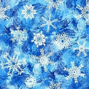 Script Snow Day Snowflakes
