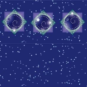 Snow Swirl Panel