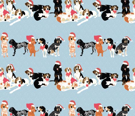 Rcoonhound-christmas-pattern_shop_preview