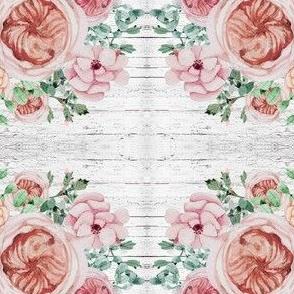 Vintage Rose Wood