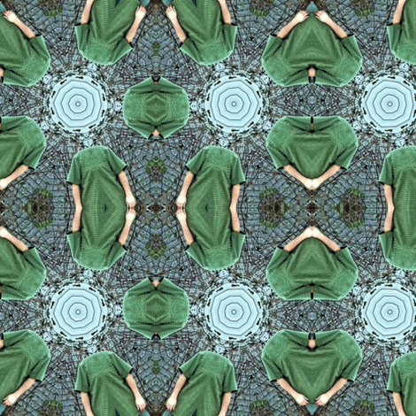 Lost His Head fabric by ginascustomcreations on Spoonflower - custom fabric
