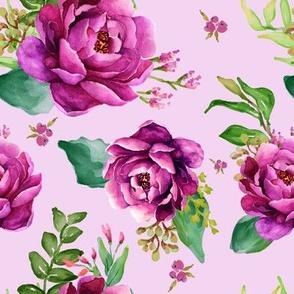 Pink Sunrise - Lilac