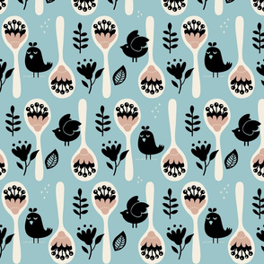 Spoonflower Inspired