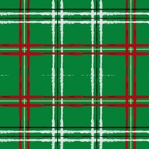 Artist Plaid_ Red and Green