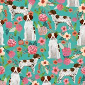 Rrbrittany_spaniel_floral_teal_shop_thumb