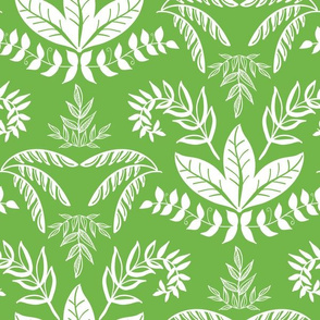 Elegant Botanical Green
