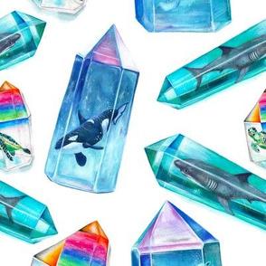 Aura Crystal Sea Creatures