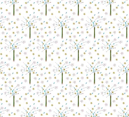Creativity flows fabric by craftwithcartwright on Spoonflower - custom fabric
