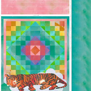 Sleeping Tiger Quilt