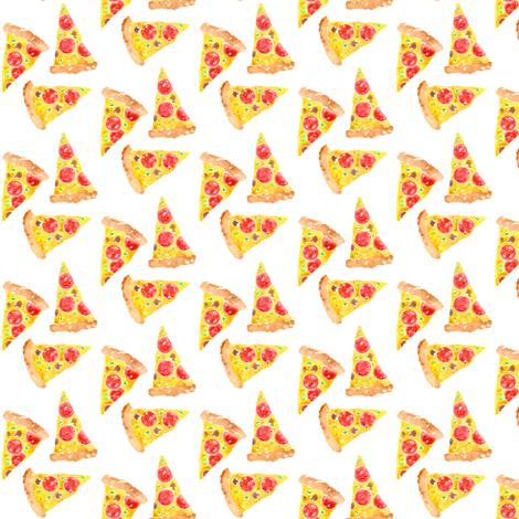 pizza mini fabric by erinanne on Spoonflower - custom fabric