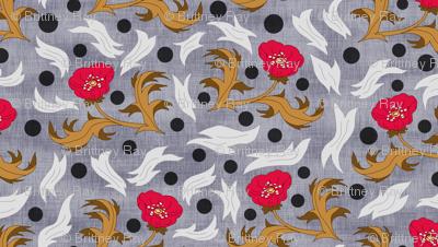 Poppies, Spots, & Swirls