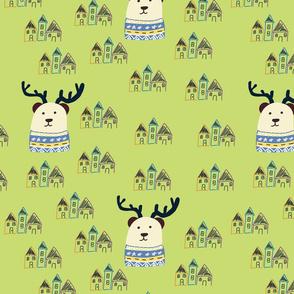 Bear deer