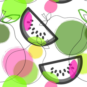 Pears & Watermelons