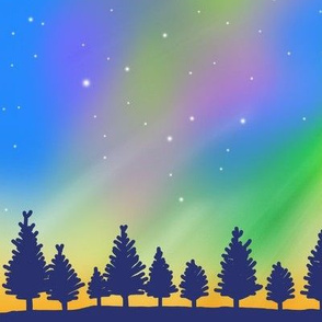 Tie Dye Night Sky