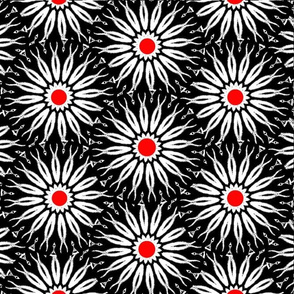 Spoonflower Flower-Power - Zebra Inspired