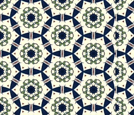 Quilting Circles-P227-B fabric by leah_quinn_design on Spoonflower - custom fabric