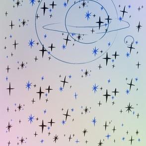 Saturn twinkle