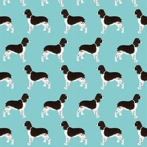 english spring spaniel dog fabric cute blue dogs fabric cute pet dogs dog fabric