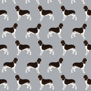 english spring spaniel dog fabric cute grey dogs fabric cute pet dogs dog fabric