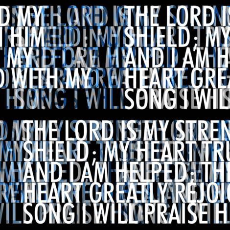 psalm_28-7 fabric by wren_leyland on Spoonflower - custom fabric
