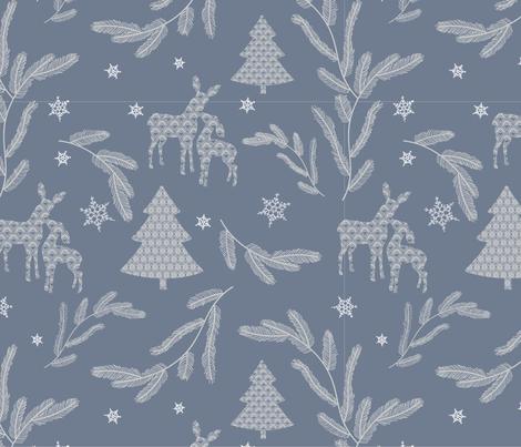 lacy-pastel-bleu fabric by maria_minkin on Spoonflower - custom fabric
