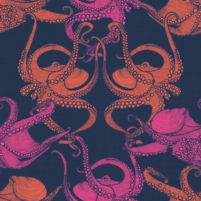 Cephalopod - Octopi - Bright