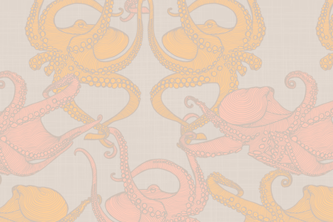 Cephalopod - Octopi - Soft fabric by docious_designs_by_patricia_braune on Spoonflower - custom fabric