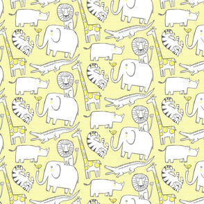 Lullaby Jungle Yellow (small)